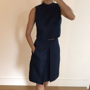 Erin Fetherson skirt and top set